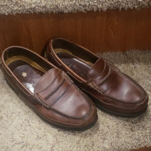 Mens Top-siders loafers slip on size 8M